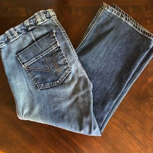 Citizens of Humanity cropped jeans EUC